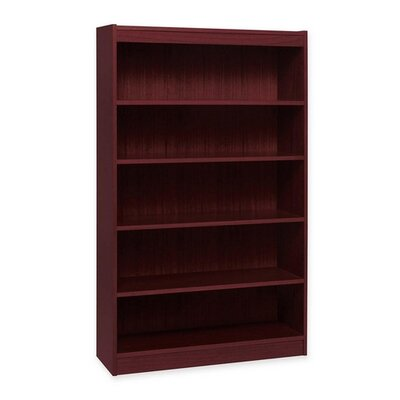 "Lorell High Quality 60"" Standard Bookcase"