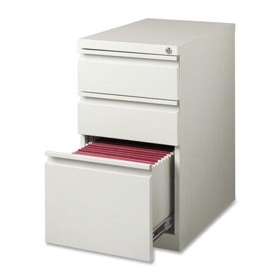 """Lorell 15"""" W x 22.9"""" D 3-Drawer Mobile Pedestal File"""