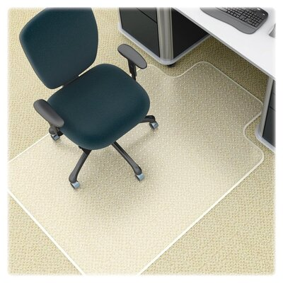 Antistatic Diamond Beveled Edge Chair Mat by Lorell