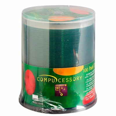 Compucessory Compucessory Branded Recordable CD-R Spindle