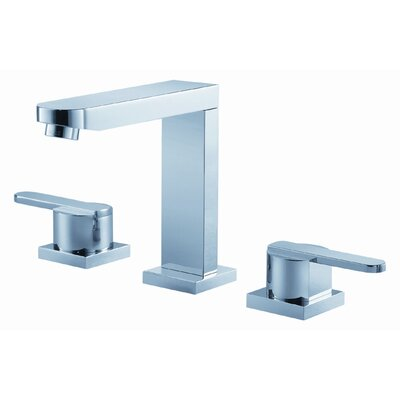Wisdom Widespread Bathroom Faucet with Double Lever Handles by Fluid