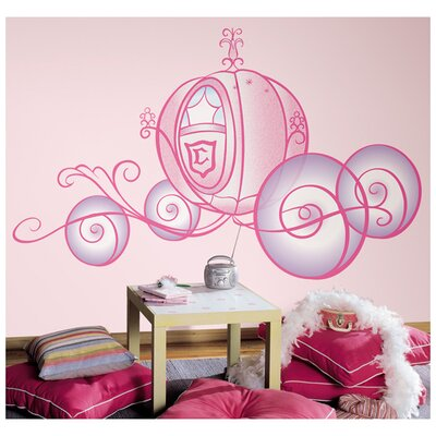 Room Mates Princess Carriage Wall Decal