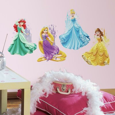 Internet Only Disney Princesses and Castles Wall Decal by Room Mates