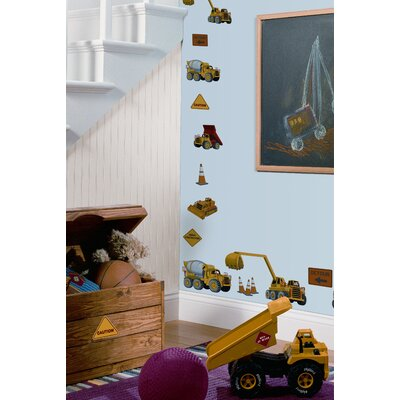 Studio Designs 23 Piece Under Construction Wall Decal by Room Mates