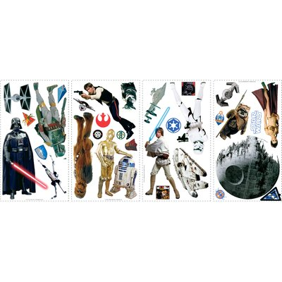 Room Mates Popular Characters Star Wars Classic Wall Decal