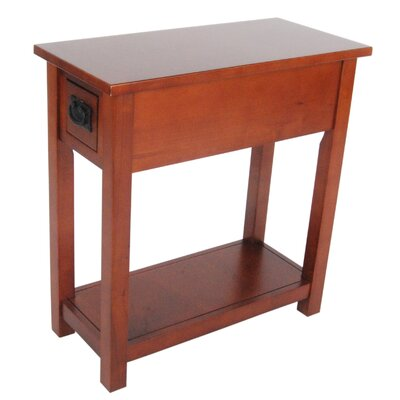 Craftsman Chairside Table by Alaterre