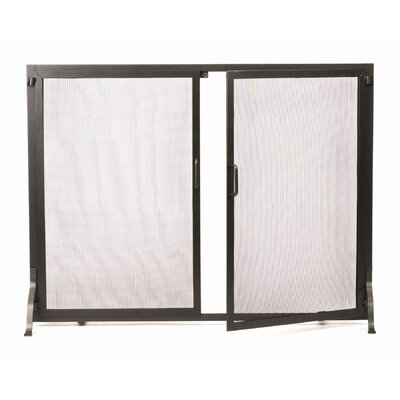 Minuteman International Wrought Iron Fireplace Screen with Doors