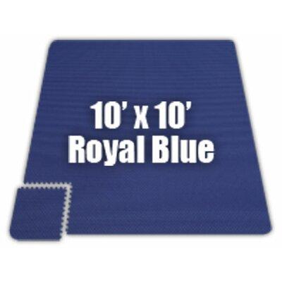 Alessco Inc. Premium SoftFloors Set in Royal Blue