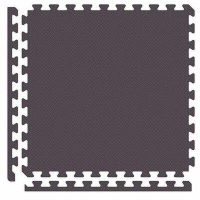 Alessco Inc. Economy SoftFloors Set in Black / Grey