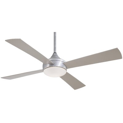 "52"" Aluma 4 Blade Wet Ceiling Fan with Remote Product Photo"