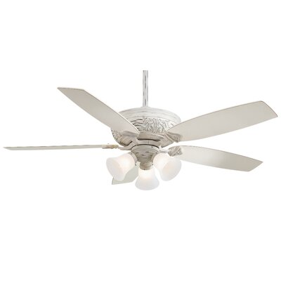 Classica 5 Blade Gallery Edition Provencal Blanc Ceiling Fan with Handheld Remote Product Photo