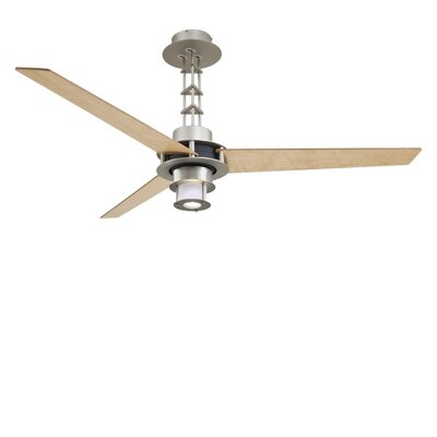 "56"" San Francisco 3 Blade Ceiling Fan with Wall Control Product Photo"