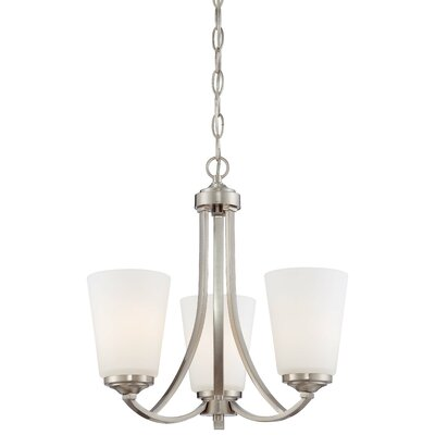 Overland Park 3 Light Mini Chandelier Product Photo