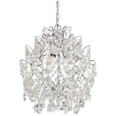 3 Light Crystal Chandelier Product Photo