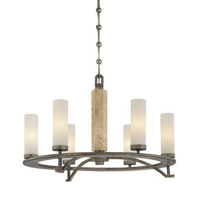 Minka Lavery Compositions 6 Light Chandelier