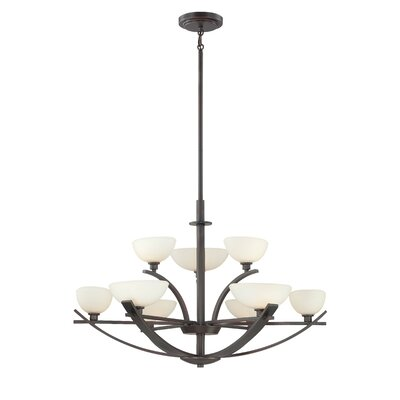 Minka Lavery Galante 9 Light Chandelier Reviews Wayfair