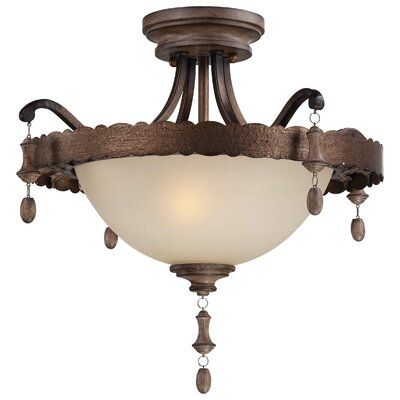 Candlewood 2 Light Semi-Flush Mount Product Photo