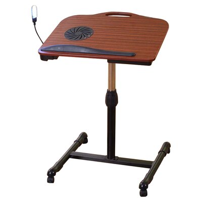 InRoom Designs Adjustable Laptop Cart