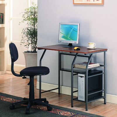 InRoom Designs 40″ W Computer Desk Desk 2700