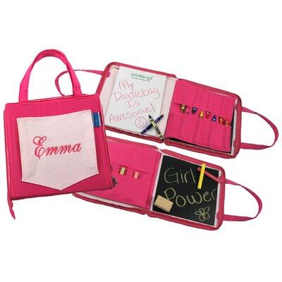 Princess Linens 12Doodlebugz Crayola Doodlebag in Hot Pink / Light Pink