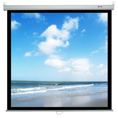 Recordex Retract Plus Premium Matte White Manual Projection Screen