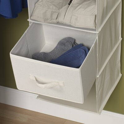 Storage and Organization Drawer for Six Shelf Organizer in Natural (Set of 2) Product Photo