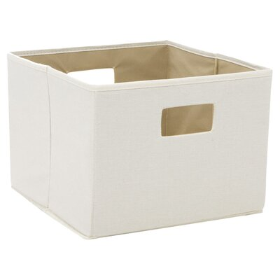 Household Essentials Canvas Storage Bin with Dual Handles