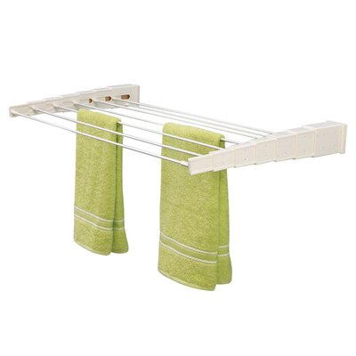Household Essentials Telescoping Wall Mounting Drying Rack