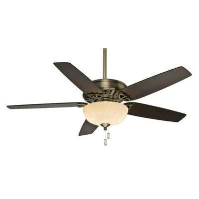 "54"" Concentra Gallery 5 Blade Ceiling Fan with Handheld Remote and Receiver Product Photo"