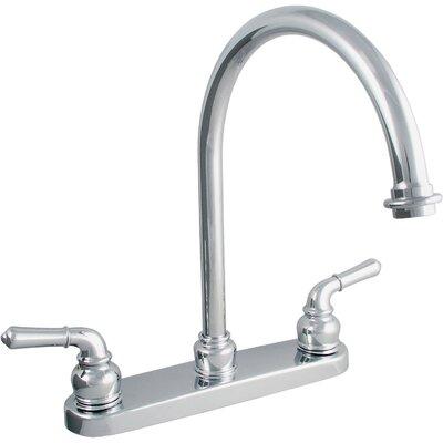 Double Handle Centerset Kitchen Faucet Product Photo