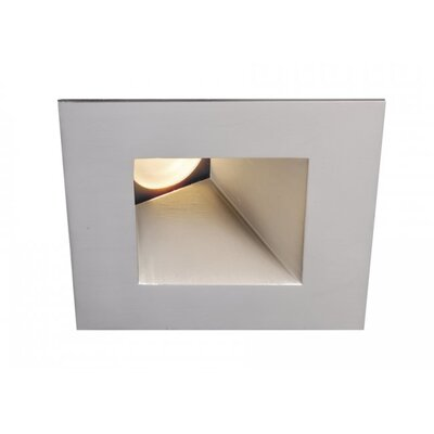 "Tesla LED Square Adjustable 50 Degree Angle 3000K 3"" Recessed Trim Product Photo"