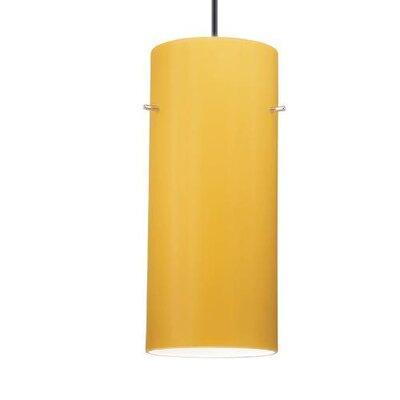 WAC Lighting Contemporary Cylindrical 1 Light Pendant
