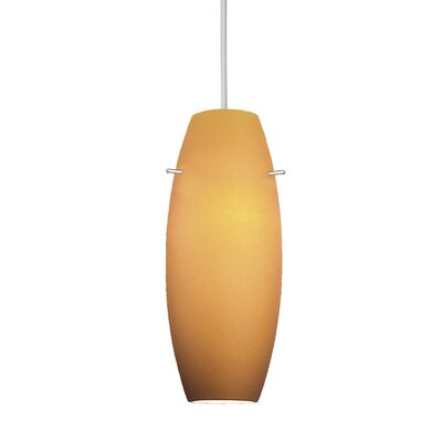 Contemporary Bongo Line Voltage Mini Pendant by WAC Lighting