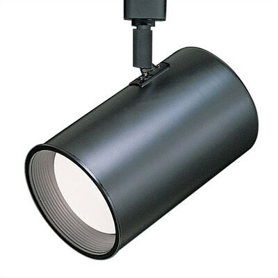 Flat Back Luminaire Line Voltage Track Head Product Photo