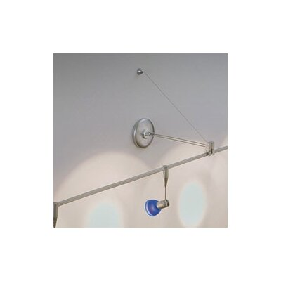 Low Voltage Monorail Non-Power Wall Mount Adapter by WAC Lighting
