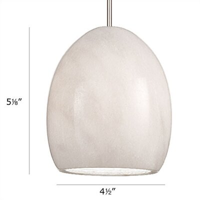 WAC Lighting Artisan Alpha 1 Light Mini Pendant