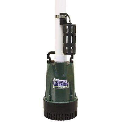 basement watchdog submersible sump pump reviews wayfair