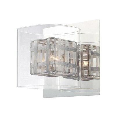 Jewel Box 1 Light Bath Vanity Light Product Photo