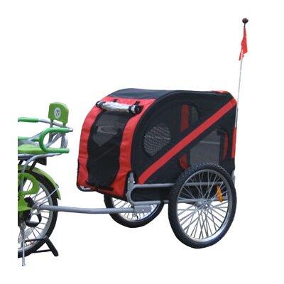 Aosom LLC Pet Bike Trailer
