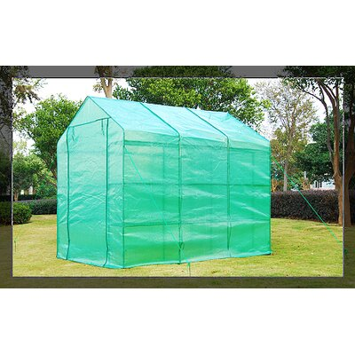 Outsunny Portable 6 Ft. W x 8 Ft. D Greenhouse by Aosom