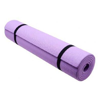 Extra Thick Non-Skid Deluxe Yoga Mat by Aosom