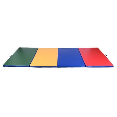 PU Leather Gymnastics Tumbling/Martial Arts Folding Mat by Soozier
