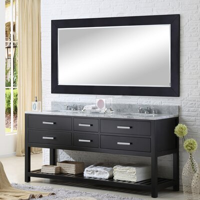 "Madalyn 72"" Double Bathroom Vanity Set Product Photo"