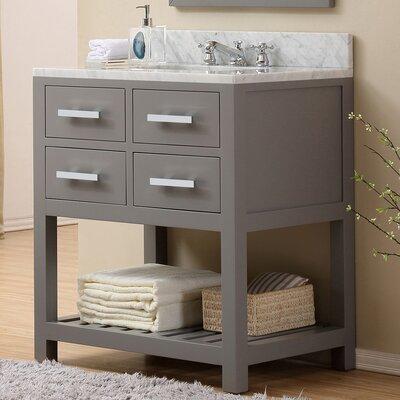 """Madalyn 30"""" Single Sink Bathroom Vanity Product Photo"""