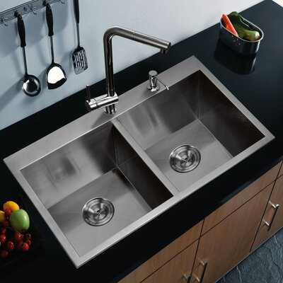 Double Bowl Kitchen Sink Product Photo