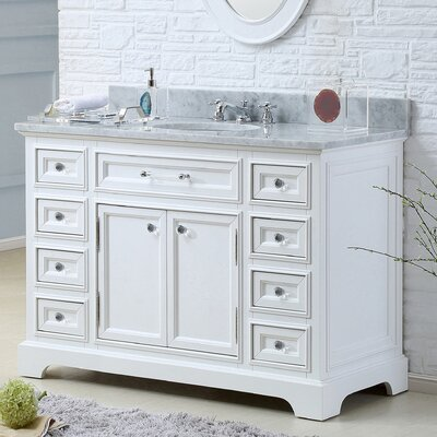 "Derby 48"" Single Sink Bathroom Vanity Set Product Photo"