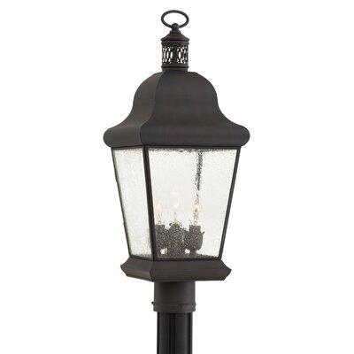 Great Outdoors by Minka Glen Allen 3 Light Outdoor Post Lantern