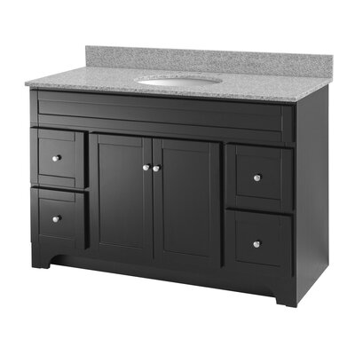 Foremost Worthington 49 Single Bathroom Vanity Set Reviews Wayfair