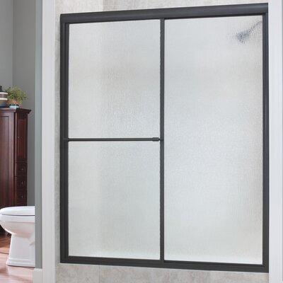 """Tides 70"""" x 48"""" Framed Sliding Shower Door Product Photo"""