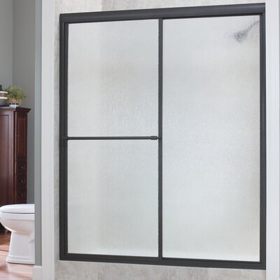 "Tides 70"" x 60"" Framed Sliding Shower Door Product Photo"